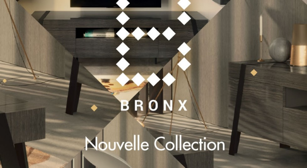 BRONX, Collection of Escribano Studio for Aleal exclusively in France.